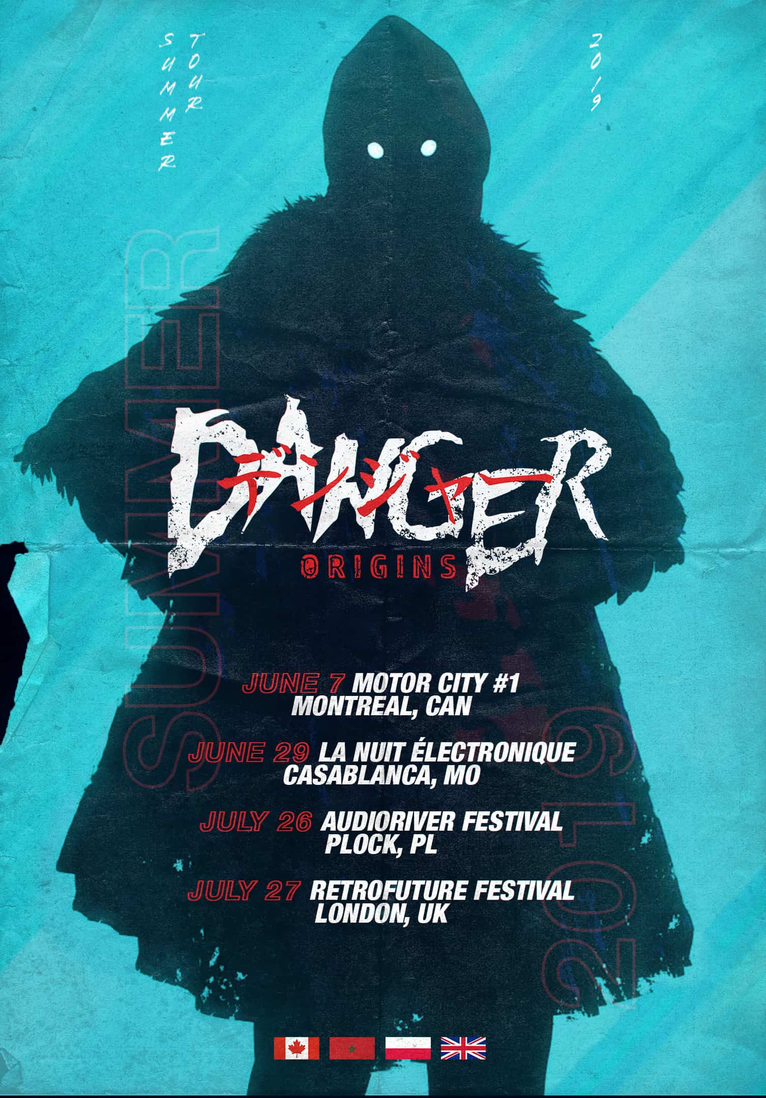 Danger - Origins - Summer Tour 2019 002